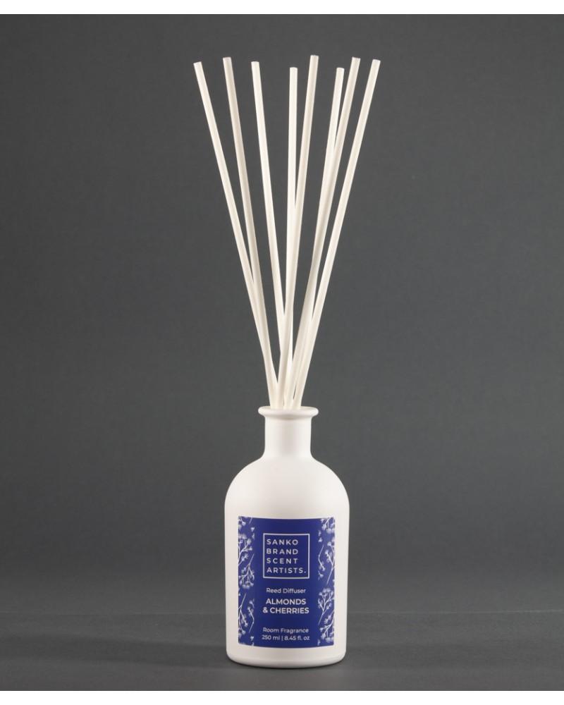 ALMONDS & CHERRIES Reed Diffuser αρωματικό χώρου 250 ml